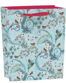 Roger La Borde Robins & Ferns Gift Bag Medium With Tag (BGX 341M)
