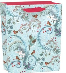 Roger La Borde Robins & Ferns Gift Bag Small With Tag (BGX 341S)