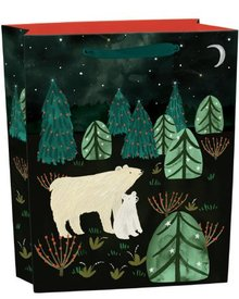 Roger La Borde Northern Lights Gift Bag Medium With Tag (BGX 346M)