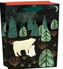 Roger La Borde Northern Lights Gift Bag Small With Tag (BGX 346S)