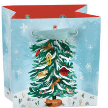 Roger La Borde Christmas Conifer Gift Bag Mini With Tag (BGX 347MINI)