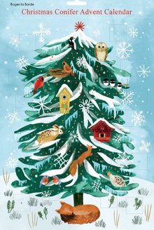Roger La Borde Christmas Conifer Advent Calendar (AC 050)