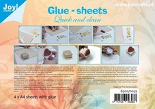 Joy!Crafts Glue-Sheets A4 (6500/0035)