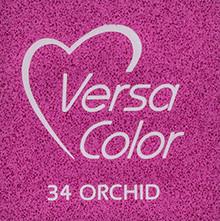 Tsukineko VersaColor 1 Inch Cube Ink Pad Orchid (VS-34)