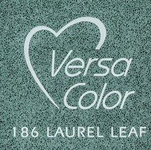 Tsukineko VersaColor 1 Inch Cube Ink Pad Laurel Leaf (VS-186)