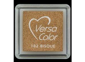 Tsukineko VersaColor 1 Inch Cube Ink Pad Bisque (VS-182)