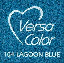 Tsukineko VersaColor 1 Inch Cube Ink Pad Lagoon Blue (VS-104)