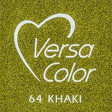 Tsukineko VersaColor 1 Inch Cube Ink Pad Khaki (VS-164)