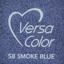 Tsukineko VersaColor 1 Inch Cube Ink Pad Smoke Blue (VS-58)