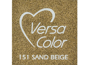 Tsukineko VersaColor 1 Inch Cube Ink Pad Sand Beige (VS-151)