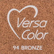 Tsukineko VersaColor 1 Inch Cube Ink Pad Bronze (VS-94)