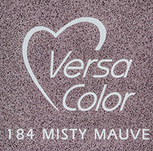Tsukineko VersaColor 1 Inch Cube Ink Pad Misty Mauve (VS-184)