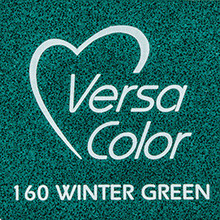 Tsukineko VersaColor 1 Inch Cube Ink Pad Winter Green (VS-160)