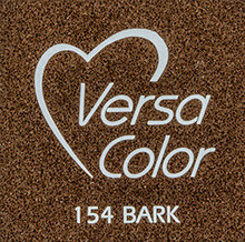 Tsukineko VersaColor 1 Inch Cube Ink Pad Bark (VS-154)