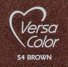 Tsukineko VersaColor 1 Inch Cube Ink Pad Brown (VS-54)
