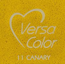Tsukineko VersaColor 1 Inch Cube Ink Pad Canary (VS-11)