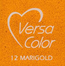 Tsukineko VersaColor 1 Inch Cube Ink Pad Marigold (VS-12)