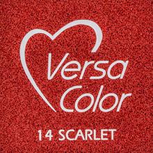 Tsukineko VersaColor 1 Inch Cube Ink Pad Scarlet (VS-14)