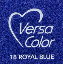 Tsukineko VersaColor 1 Inch Cube Ink Pad Royal Blue (VS-18)