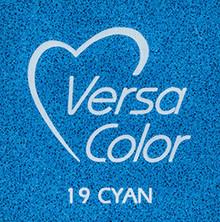 Tsukineko VersaColor 1 Inch Cube Ink Pad Cyan (VS-19)
