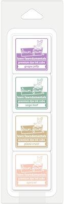 Lawn Fawn Premium Dye Ink Secret Garden Cube Pack (LF1838)