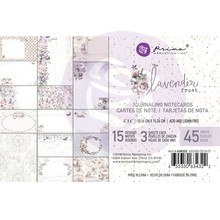 Prima Marketing Inc Lavender Frost 4x6 Inch Journaling Cards (634322)