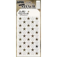 Stampers Anonimous Tim Holtz Shifter Stars Layering Stencil (THS111)