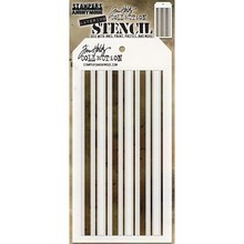 Stampers Anonimous Tim Holtz Shifter Mint Layering Stencil (THS112)