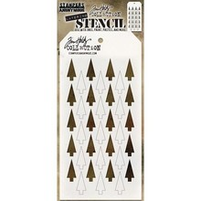 Stampers Anonimous Tim Holtz Shifter Tree Layering Stencil (THS113)