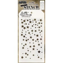 Stampers Anonimous Tim Holtz Falling Stars Layering Stencil (THS115)
