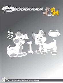 By Lene Metal Dies Dogs (BLD1129)