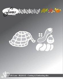By Lene Metal Dies Turtle (BLD1132)