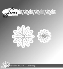 By Lene Clear Stamps Daisy (BLS1083)
