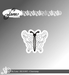 By Lene Clear Stamps Butterfly (BLS1085)