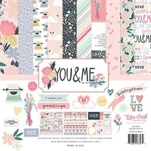 Echo Park You & Me 12x12 Inch Collection Kit (YM168016)