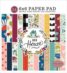 Carta Bella Our House 6x6 Inch Paper Pad (CBOH94023)
