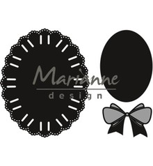 Marianne Design Craftable Oval Ribbon (CR1458)