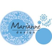 Marianne Design Creatable Flower Frame Round (LR0574)