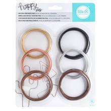 We R Memory Keepers Happy Jig Neutral Wire Multi Pack (660266)