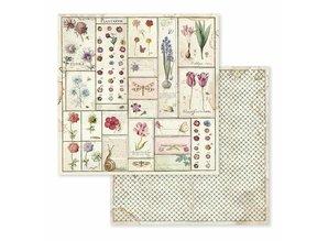 Stamperia Spring Botanic 12x12 Inch Paper Pack (SBBL50)