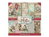 Stamperia Alice 12x12 Inch Paper Pack (SBBL52)