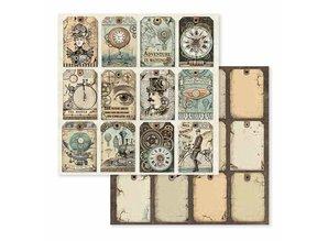 Stamperia Voyages Fantastiques 12x12 Inch Paper Pack (SBBL53)