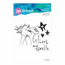 Spellbinders Jane Davenport Unicorn Sparkle Clear Stamps (JDS-018)