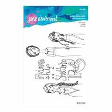 Spellbinders Jane Davenport Friendship Clear Stamps (JDS-024)