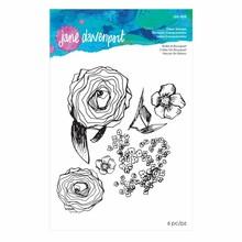 Spellbinders Jane Davenport Build-a-Bouquet Clear Stamps (JDS-035)