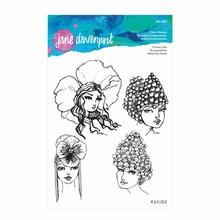 Spellbinders Jane Davenport Flower Girls Clear Stamps (JDS-037)