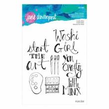 Spellbinders Jane Davenport Crafty Minx Clear Stamps (JDS-045)