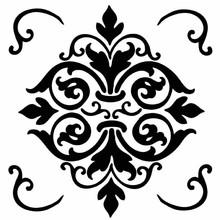 Stamperia Media Stencil Decor (KSTDQ07)