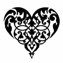 Stamperia Media Stencil Heart (KSTDQ10)
