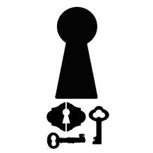 Stamperia Media Stencil Locks & Keys (KSTDL12)